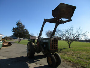 Oliver 1600 Original Tractor With Loader