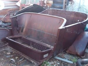 1920 S Willys Overland Touring Body Rear Half All Steel Hot Rod