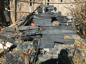 Thousands Of Blue Grey Slate Roof Shingles Includes Ridge Practically New