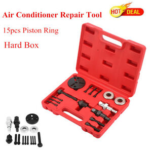 A C Compressor Clutch Installer Remover Kit Air Condition Ac Automotive Tool Us