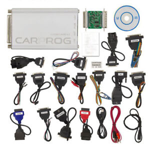 Version V10 93 Carprog Full Car Prog Programmer With All 21 Item Adapters Newest