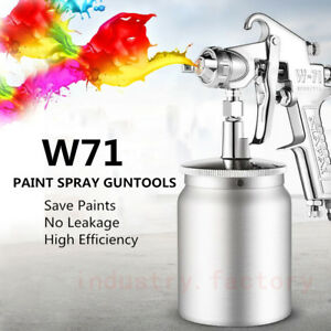 1 3mm Nozzle Paint Air Spray Gun Kit High Efficiency 600ml 2 3bar Primer Sprayer