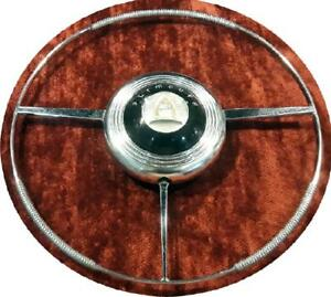 beautiful 1946 47 48 Plymouth Horn Ring Button Free Shipping With Insurance