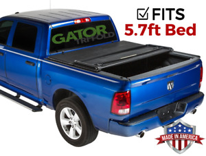 Gator Etx Tri Fold Fits 2009 2018 Dodge Ram 5 7 Ft Tonneau Bed Cover No Rb