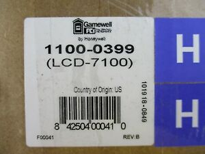 new Gamewell Lcd 7100 Remote Serial Annunciator Lcd Display