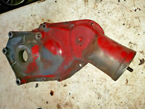 Farmall F12 Tractor Front Engine Timing Cover Oil Filler Ihc Part