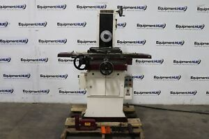 Chevalier Fsg 618m 6 X 18 Manual Hand Feed Surface Grinder