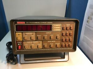 Keithley 224 Programmable Current Source calibrated
