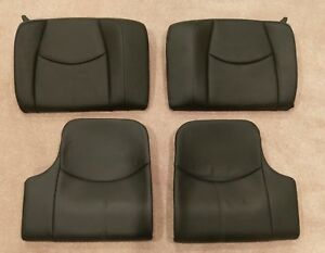 Porsche 911 997 Rear Seats Black Full Leather
