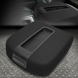 For 2007 2014 Silverado sierra Front Center Console Lid Kit Armrest Cover Black