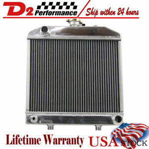 Aluminum Radiator Fits Ford New Holland Tractor 1000 1500 1600 1700