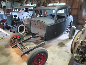 1932 Ford Five Window Coupe Body Frame Parts