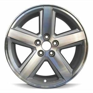 Wheel 2008 2010 Dodge Avenger 18 Inch Aluminum Rim 5 Spokes 5 Lug 114 3mm