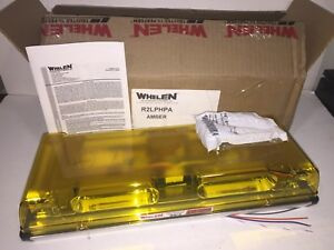 Whelen Responder Lp Mini Led Lightbar R2lphpa Linear Led Construction Snow Plow