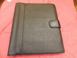 Levenger Black Leather Softolio 2 0 Leather Notebook