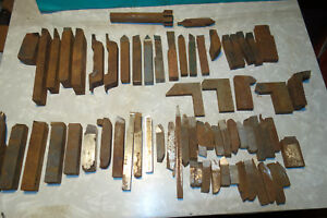 Large Lot Carbide High Speed Lathe Cutting Tool Bits 3 4 5 8 1 2 Mill Cutter