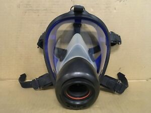 Survivair Twenty Twenty Facepiece Firefighter Respirator Scba Mask Medium