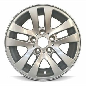 Wheel 2006 2012 Bmw 323i 16 Inch Aluminum Rim 10 Spokes 5 Lug 120mm