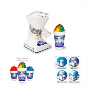 Little Shaved Ice Machines 2 Shaver Premium Snow Cone Syrup Samples