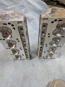 Trick Flow Twisted Wedge 205cc Cylinder Head Sbf 56cc Total Engine Airflow