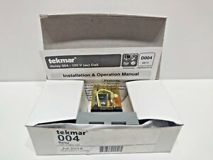 New Tekmar Relay 004 Relay 120v ac Coil