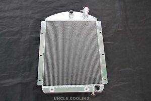 3 Row 1941 1946 Chevy Pickup Truck Aluminum Radiator Small Block Chevy