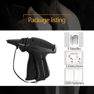 Tag Gun For Clothing Clothes Tagger Kit Needles Price Sale Shops Warehouse Easy