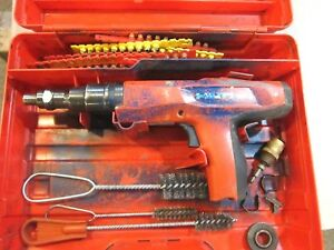 Hilti Dx 2 Powder Actuated Fastening Tool Red Trigger Free Shipping