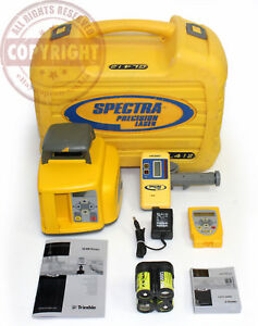 Spectra Precision Gl412 Slope Self leveling Laser Level topcon trimble grade