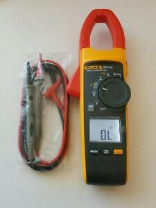 Fluke 374 Fc True Rms Ac Dc Clamp Meter Multimeter New Test Lead Probes Mint