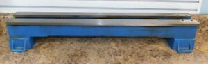 Atlas Clausing Mk2 101 21200 10100 3950 6 Metal Lathe Bed With Feet