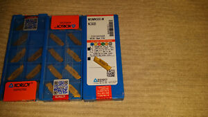 Korloy Mgmn300 Nc3020 Cut Off Grooving Tool Carbide Inserts Lathe Tool 29 Pieces