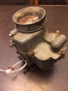 Model 59 64 Holley Ford Script Carburetor 15 16 Carb Flathead Engine