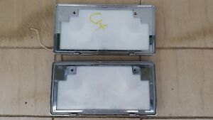 Jdm Japanese License Plate Light Box Chrome Frame Toyota Honda Nissan Mitsubishi