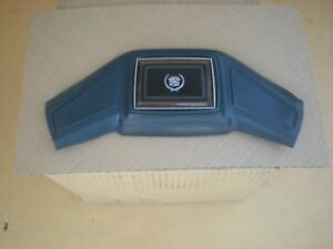 Cadillac Steering Wheel Horn Button Pad With Emblem Fleetwood Coupe Deville