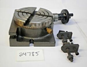 3 Rotary Table With Clamping Kit new Pic 24785