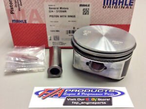 Chevrolet 4 8 5 3 V8 Ls Engines Flat Top Piston And Ring Kit Mahle 224 3729wr
