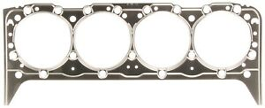Small Block Chevy 283 350 Engines Single Steel Shim Head Gasket Mahle 1178bs