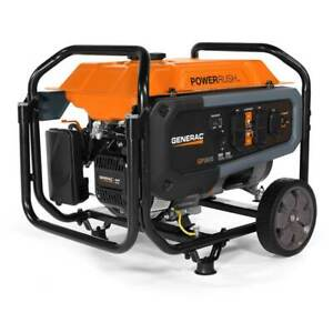 Generac Gp3600 212cc 120 volt 30 amp Gas Powered Portable Generator 7677