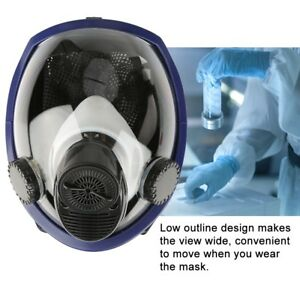 Air Fed Supplied Respirator System Full Face Gas Mask For Paint Spraying Welding