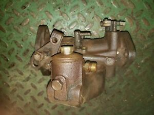 John Deere B Jd Tractor Marvel Schebler Carburetor Dltx34 2 Cyl Jd Parts 39 B