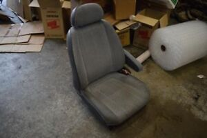 1994 1995 1996 1997 Toyota Previa Right Passenger Front Seat Chair Gray Cloth