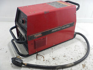 Lincoln Electric V350 pro Invertec Multiprocess Welder Untested Sold As Is