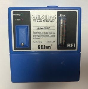 Gilian Gilair5 Tri mode Air Sampler Gilair 5 Constant Air Flow Sampling Pump