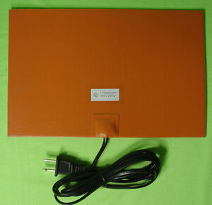 200 Watt 120 V Volt Silicone Pad Tank Heater Waste Vegetable Oil Biodiesel Wvo