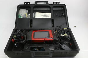 Snap On Modis Eems300 Automotive Diagnostic Tool Scanner Kit W Software 5 2 0 0