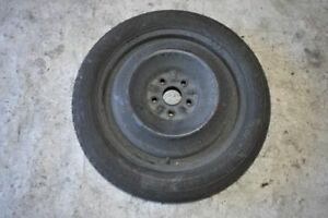2009 Toyota Camry Spare Tire 155 70 17 Wheel With Goodyear Tire
