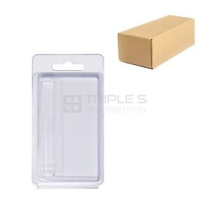 Business Card Size Clamshell Blister Packaging For 1 0ml Cartridge 1500pcs