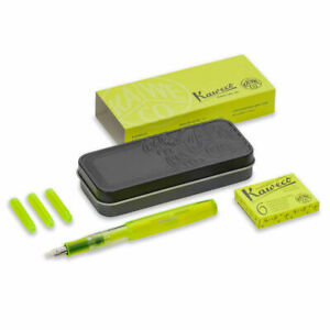 Kaweco Ice Sport Glow Marker Highlighter Set Yellow 1 9mm Stub
