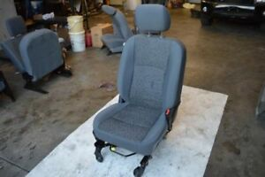 2015 Ram 1500 Right Front Seat Gray Cloth Manual Bucket